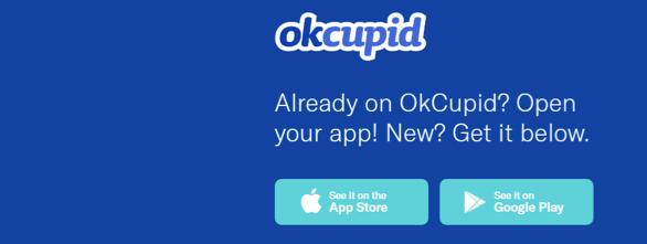 crear cuenta , iniciar sesión, reclamos quejas opiniones comentarios os precos, functiones , servico a el cliente de OKcupid 0