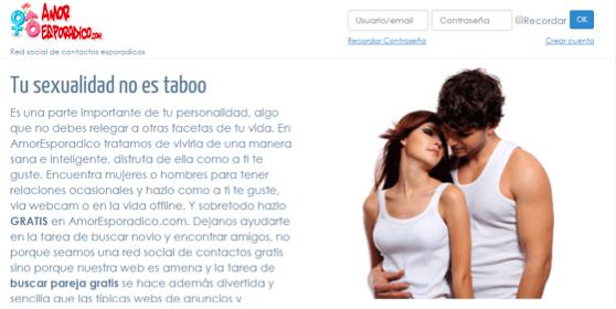 crear cuenta , iniciar sesión, reclamos quejas opiniones comentarios os precios, funciones , servicio a el cliente de AmorEsporadico.com 3