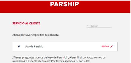 crear cuenta , iniciar sesión, reclamos quejas opiniones comentarios os precios, funciones , servicio a el cliente de Parship 2